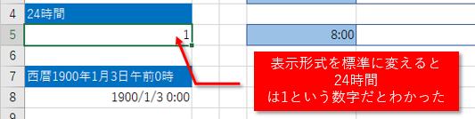 Excelで扱う日付・時間について...